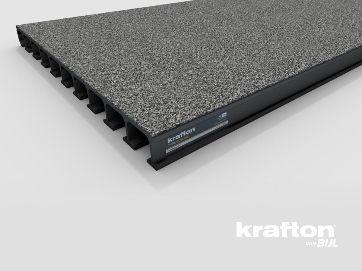 krafton® 500.40 GVK Brugdekplank