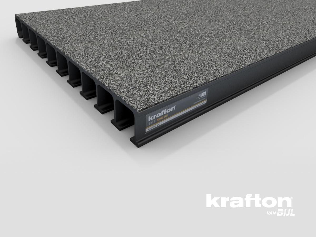 krafton® 500.55 GVK Brugdekplank